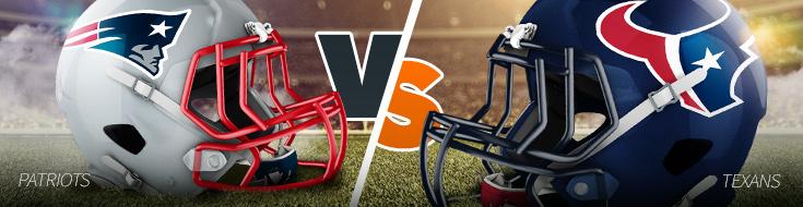 2017 NFL Divional Playoffs Patriots vs Texans Odds