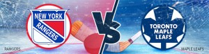 Rangers vs Maple Leafs Betting