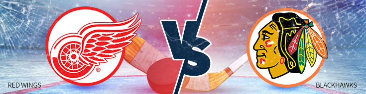 Red Wings vs Blackhawks NHL Betting