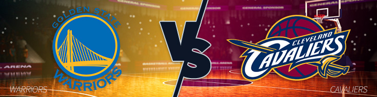 Warriors vs Cavaliers Betting odds