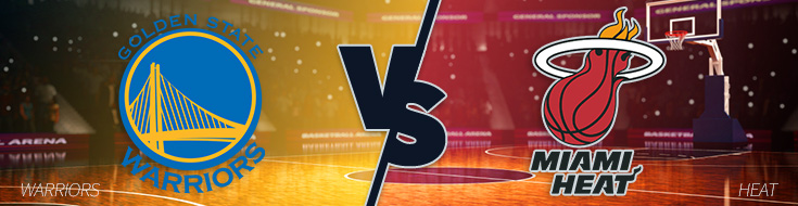 Golden State Warriors vs. Miami Heat Monday, January 23rd Odds