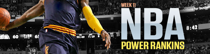 Week 11 NBA Power Rankings