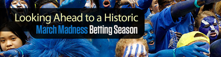 A Historic March Madness Betting Season