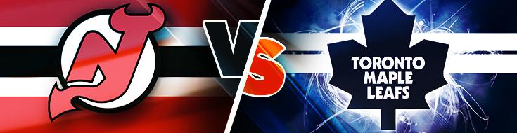 New Jersey Devils vs Toronto Maple Leafs