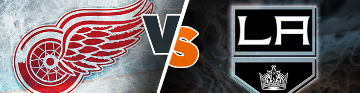 Red Wings vs. Kings