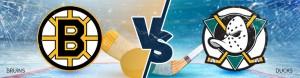 Boston Bruins vs. Anaheim Ducks Betting Odds - Wednesday, February 22nd