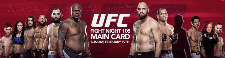 Fight Night 105 Main Card Sportsbook Preview and Odds