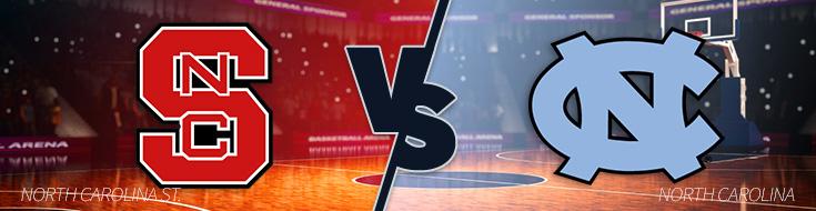 North Carolina St. vs North Carolina Odds Betting - Wednesday, February 15th