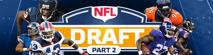 Online NFL Betting Mock Draft Part 2