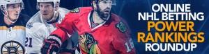 NHL Betting Power Rankings Roundup
