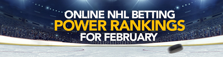 Updated NHL Betting Power Rankings for February
