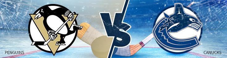 Penguins vs Canucks Odds - Tuesday, February 14th