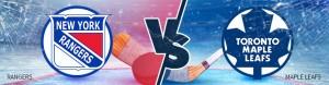 Rangers vs Maple Leafs Thursday, February 23rd Odds