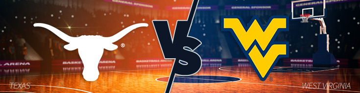 Texas Longhorns vs. West Virginia Mountaineers Betting Odds - Monday, February 20th