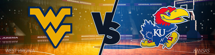 Kansas Jayhawks vs. West Virginia Mountaineers - NCAAB Betting REGULAR SEASON – Monday, February 13th