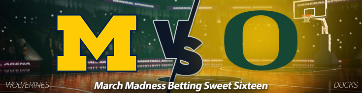 Michigan vs. Oregon – Thursday, March 23 Odds