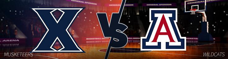 Xavier vs. Arizona – Thursday, March 23 Odds