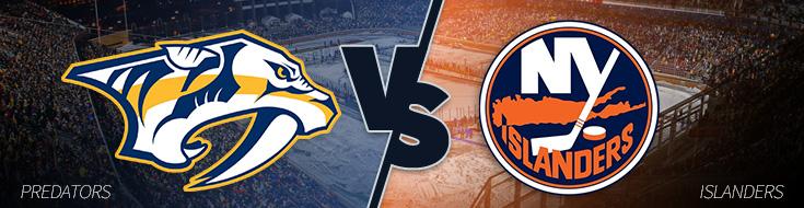 Nashville Predators vs. New York Islanders A Tight Betting Game