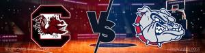 Gonzaga Bulldogs vs. South Carolina Gamecocks Final Four Betting Odds