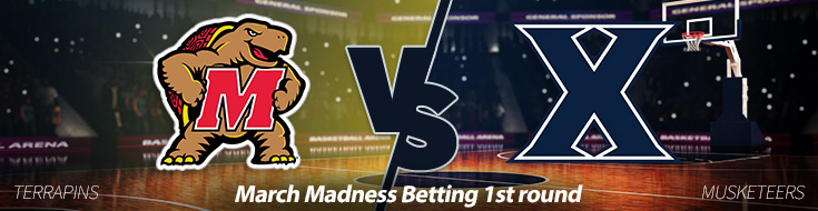 Xavier Musketeers vs. Maryland Terrapins March Madness Betting Odds
