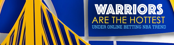 Warriors are the hottest Under online betting NBA trend
