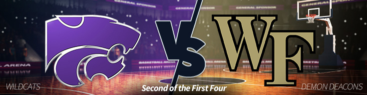 Kansas St. Wildcats vs. Wake Forest Demon Deacons Betting Odds First Four March Madness