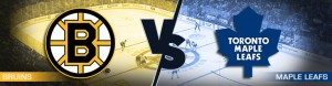 Toronto Maple Leafs vs. Boston Bruins Odds - Monday March 20, 2017