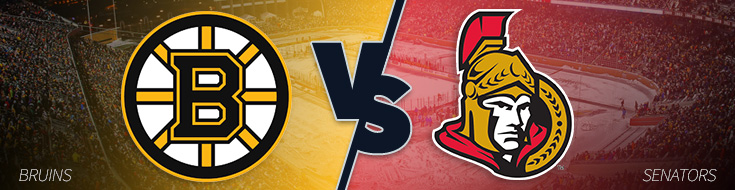 Betting Odds Boston Bruins vs. Ottawa Senators - Monday, March 6th