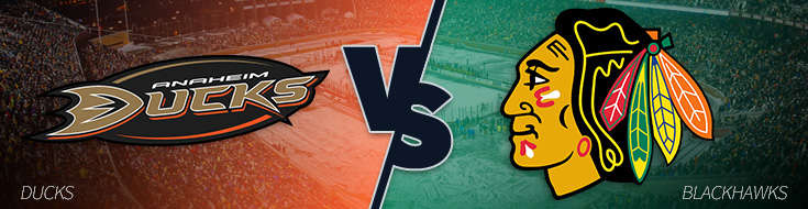 Anaheim Ducks vs. Chicago Blackhawks Odds - Thursday March 9th, 2017
