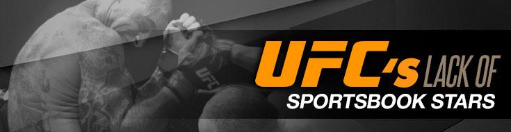 UFC's Lack of Sportsbooks Stars
