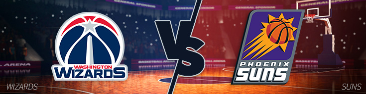 Washington Wizards vs. Phoenix Suns Odds