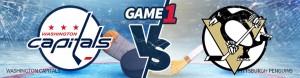 Capitals vs. Penguins Game 1