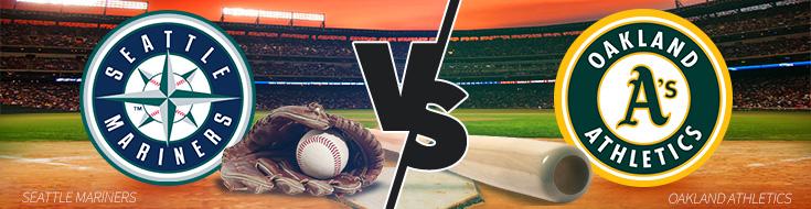 Mariners vs. Athletics game 1