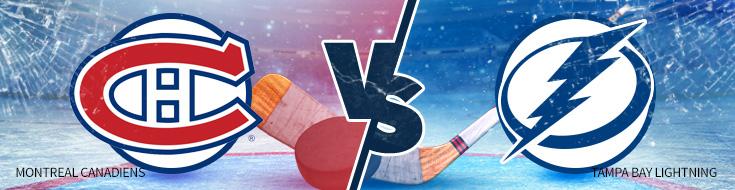 Montreal Canadiens vs. Tampa Bay Lightning NHL hockey betting lines