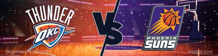 Oklahoma City Thunder vs. Phoenix Suns – Friday, April 7th