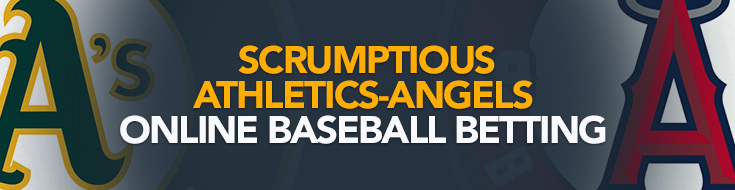 Scrumptious Athletics-Angels online baseball betting