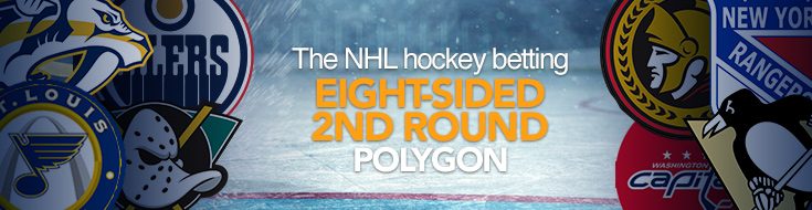 The NHL hockey betting eight-sided 2nd round polygon