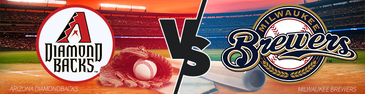 Arizona Diamondbacks vs. Milwaukee Brewers Odds – Game 1 – Thurs., May 25th