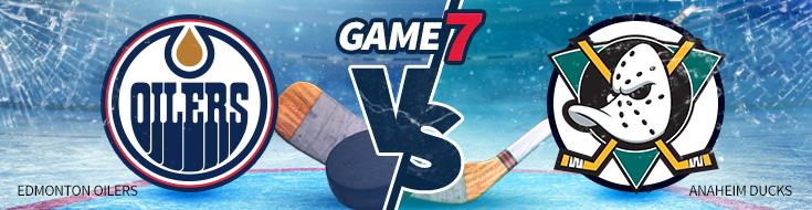 Game 7 – Edmonton Oilers vs. Anaheim Ducks Odds – Wednesday, May 10th