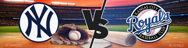 Kansas City Royals vs. New York Yankees Betting Preview – Game 1 – Monday, May 22nd
