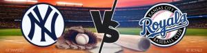New York Yankees vs. Kansas City Royals betting odds – Game 2 – Wed., May 17th