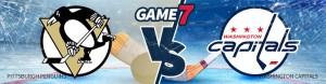 Game 7 – Odds Pittsburgh Penguins vs. Washington Capitals – Wed., May 10th