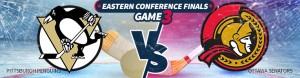 Game 3 – Pittsburgh Penguins vs. Ottawa Senators Betting Preview – Wed., May 17th
