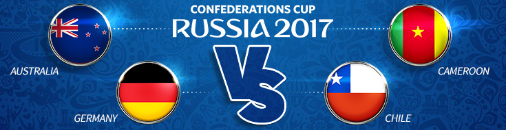 FIFA Confederations Cup - Thursday, June 22th, 2017 Odds Preview