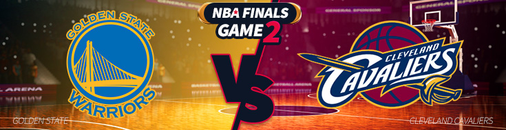 Game 2 – Cleveland Cavaliers vs. Golden State Warriors Betting – Sunday, June 4th