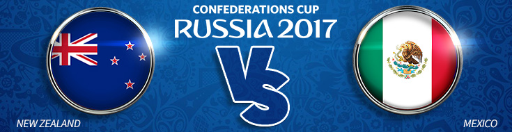 FIFA Confederations Cup – New Zealand vs. Mexico – Wednesday, June 21st