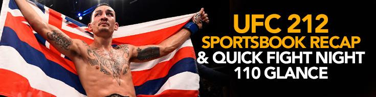 UFC 212 Sportsbook Recap