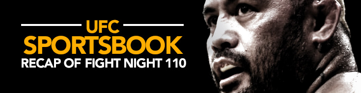 UFC Sportsbook Recap of Fight Night 110