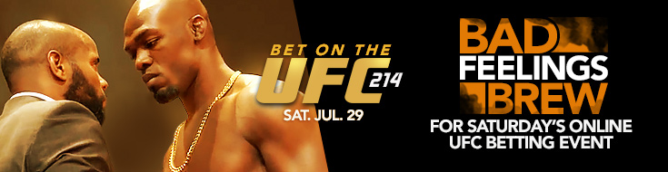 UFC 214: Cormier vs. Jones 2 Betting Analysis– Saturday, July 29th