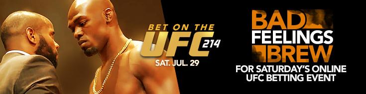 UFC 214: Cormier vs. Jones 2 Betting Analysis– Saturday, July 29th